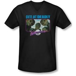 Galaxy Quest - Mens Cute But Deadly V-Neck T-Shirt