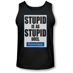 Forrest Gump - Mens Stupid Is Tank-Top