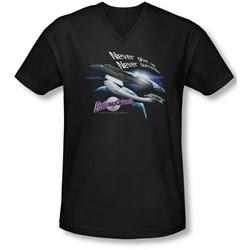 Galaxy Quest - Mens Never Surrender V-Neck T-Shirt