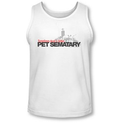 Pet Sematary - Mens Logo Tank-Top