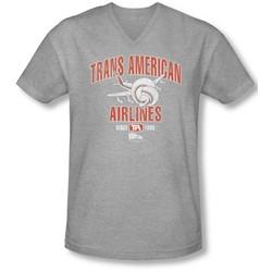 Airplane - Mens Trans American V-Neck T-Shirt