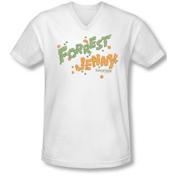 Forrest Gump - Mens Peas And Carrots V-Neck T-Shirt