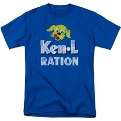 Ken L Ration - Mens Distressed Logo T-Shirt