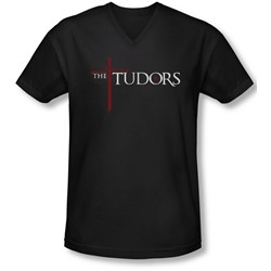 Tudors - Mens Logo V-Neck T-Shirt