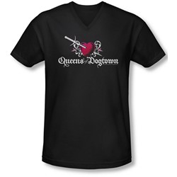 Californication - Mens Queens Of Dogtown V-Neck T-Shirt