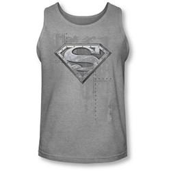 Superman - Mens Riveted Metal Tank-Top