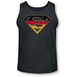 Superman - Mens German Shield Tank-Top
