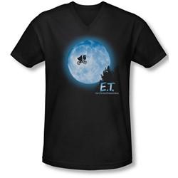Et - Mens Moon Scene V-Neck T-Shirt