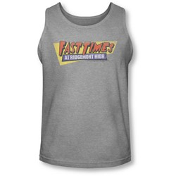 Fast Times Ridgemont High - Mens Distressed Logo Tank-Top