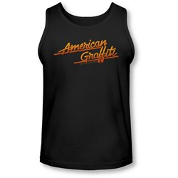 American Grafitti - Mens Neon Logo Tank-Top