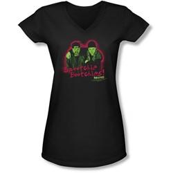 Mallrats - Juniors Snootchie Bootchies V-Neck T-Shirt