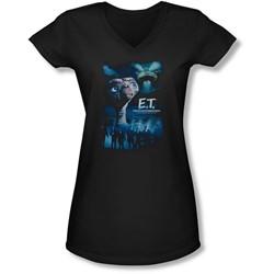Et - Juniors Going Home V-Neck T-Shirt