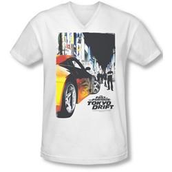 Tokyo Drift - Mens Poster V-Neck T-Shirt