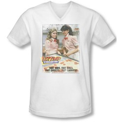 Fast Times Ridgemont High - Mens Fast Carrots V-Neck T-Shirt