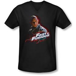 Fast & Furious - Mens Toretto V-Neck T-Shirt