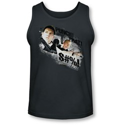 Hot Fuzz - Mens Punch That Tank-Top