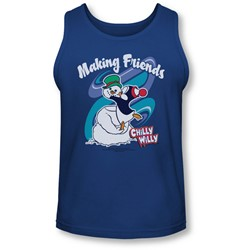 Chilly Willy - Mens Making Friends Tank-Top