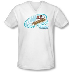 Chilly Willy - Mens Too Cool V-Neck T-Shirt