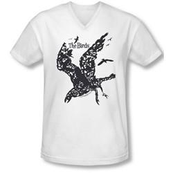 Birds - Mens Title V-Neck T-Shirt