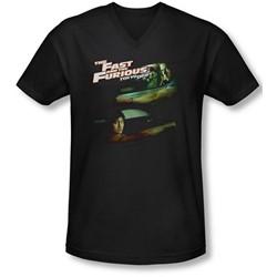 Tokyo Drift - Mens Drifting Together V-Neck T-Shirt