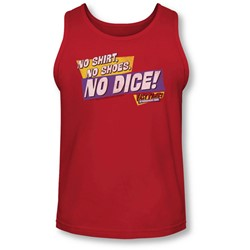 Fast Times Ridgemont High - Mens No Dice Tank-Top