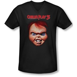 Childs Play 3 - Mens Chucky V-Neck T-Shirt