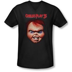 Childs Play 3 - Mens Chucky V-Neck T-Shirt