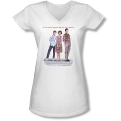 Sixteen Candles - Juniors Poster V-Neck T-Shirt