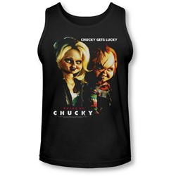 Bride Of Chucky - Mens Chucky Gets Lucky Tank-Top