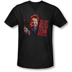 Childs Play 3 - Mens Good Guy V-Neck T-Shirt