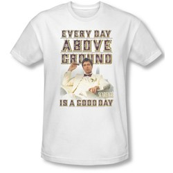 Scarface - Mens Above Ground Slim Fit T-Shirt