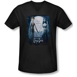 Corpse Bride - Mens Poster V-Neck T-Shirt