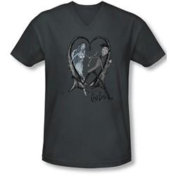 Corpse Bride - Mens Runaway Groom V-Neck T-Shirt