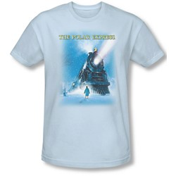Polar Express - Mens Big Train Slim Fit T-Shirt