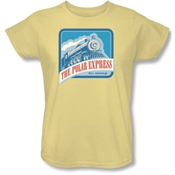 Polar Express - Womens All Aboard T-Shirt