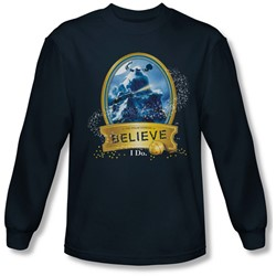 Polar Express - Mens True Believer Longsleeve T-Shirt