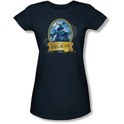 Polar Express - Juniors True Believer Sheer T-Shirt