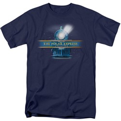 Polar Express - Mens Train Logo T-Shirt