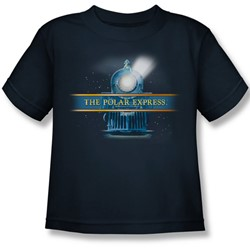 Polar Express - Little Boys Train Logo T-Shirt
