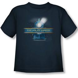 Polar Express - Toddler Train Logo T-Shirt