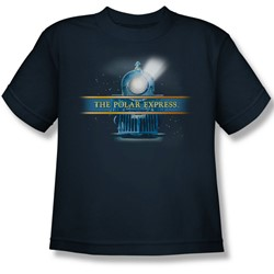Polar Express - Big Boys Train Logo T-Shirt