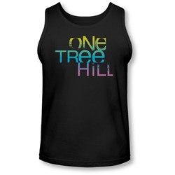 One Tree Hill - Mens Color Blend Logo Tank-Top