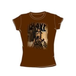 Heavy Metal - March '06 Cover - Juniors Coffee S/S T-Shirt For Women