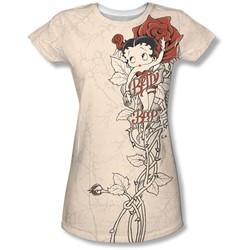 Betty Boop - Juniors Thorn Boop T-Shirt