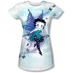 Betty Boop - Juniors Sparkle Fairy T-Shirt