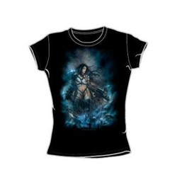 Heavy Metal - Tears Of The Iii - Juniors Black S/S T-Shirt For Women