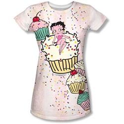 Betty Boop - Juniors Cake Boop T-Shirt