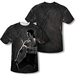 Bruce Lee - Mens Dragon Print T-Shirt