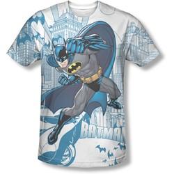 Batman - Mens Skyline All Over T-Shirt