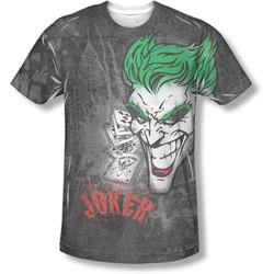 Batman - Mens Joker Sprays The City T-Shirt